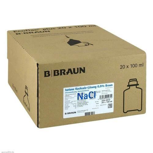 Isotonische Kochsalzlösung *20 x 100 ml*