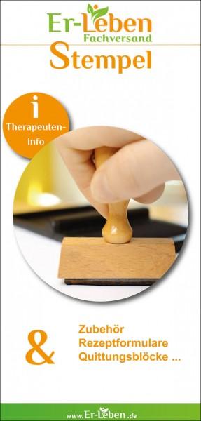"""Therapeuteninfo """"Stempel"""""""