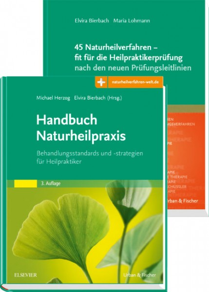 Set Naturheilverfahren für die Heilpraktikerprüfung: Handbuch für die Naturheilpraxis + 45 Naturheil