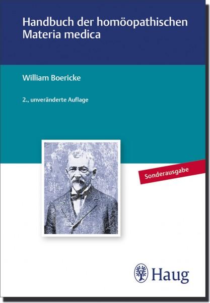 Handbuch der homöopathischen Materia medica - Sonderausgabe