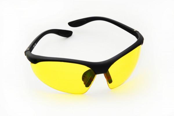 Farbbrille *sportlich *gelb*