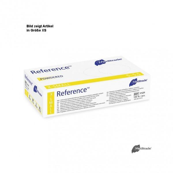 Latex-Handschuhe Reference - gepudert - Gr. L VE 100 Stück