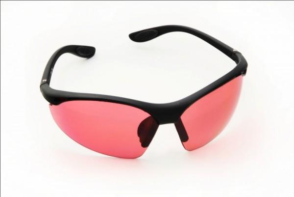 Farbbrille *sportlich *pink*