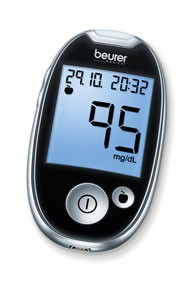 Blutzucker-Messgerät beurer GL 44 - Starter-SET