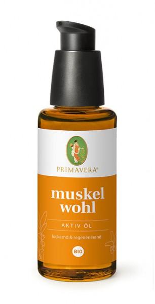 muskelwohl Aktiv Öl* bio - 50 ml