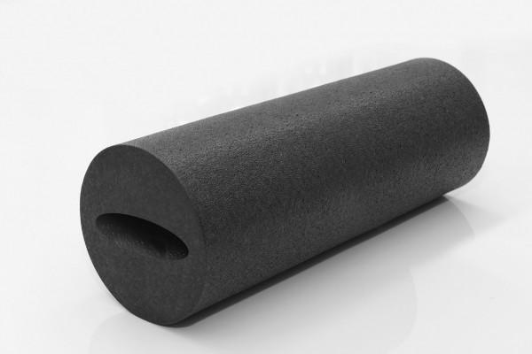 Myofascia Roller - schwarz - 15 x 40 cm.