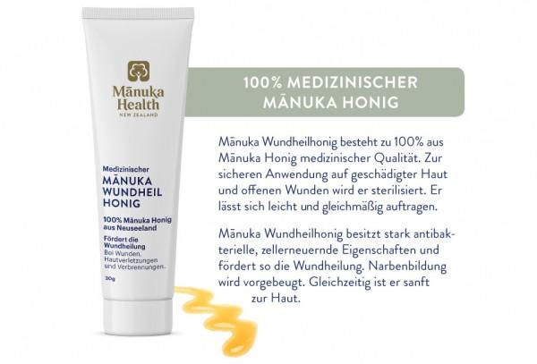 Manuka-Wundheilhonig MGO 250+ 30 g