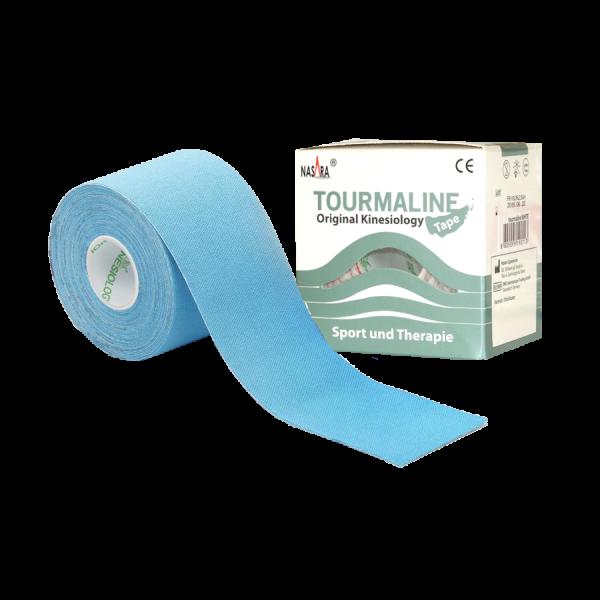 Kinesiology Tape Nasara Turmalin - blau - 5 m x 5 cm