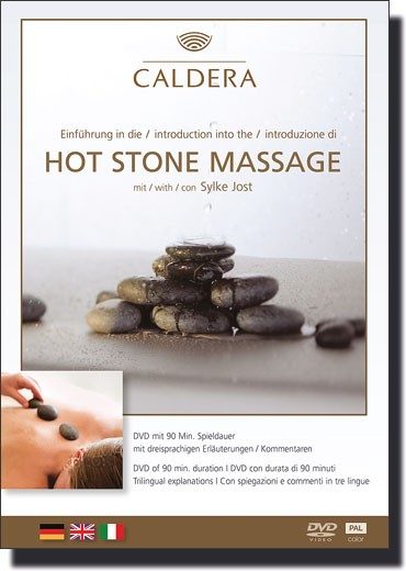 Hot Stone Massage - Video-DVD