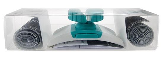 CBC Sling & Twist Starterkit - 2 Einweg-Venenstaubänder + 1 Twist-Drehknopf