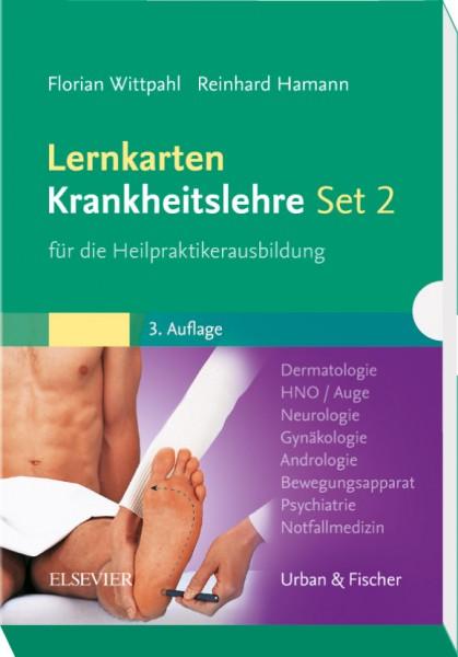 Lernkarten Krankheitslehre - Set 2 -
